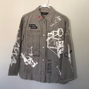 Zara outerwear urban utility jacket